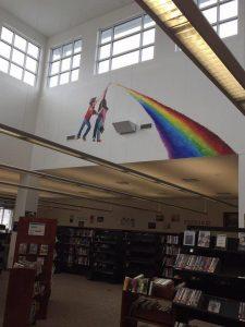 prism mural